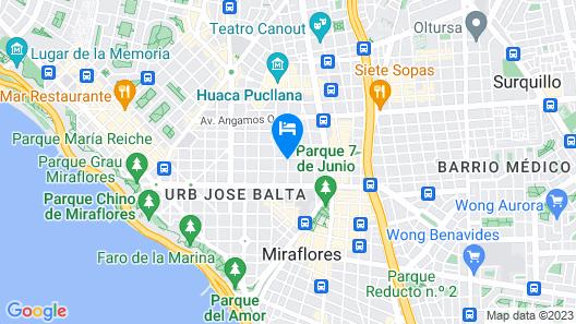 Petit Palace Apart Hotel Suites Map