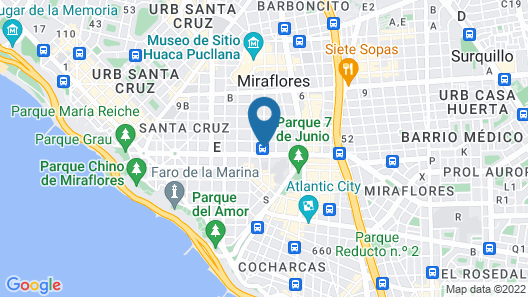 El Pardo DoubleTree by Hilton Map