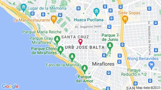 Dazzler by Wyndham Lima Miraflores Map
