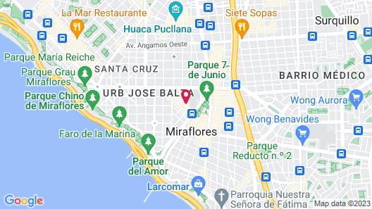 Estelar Apartamentos Bellavista Map
