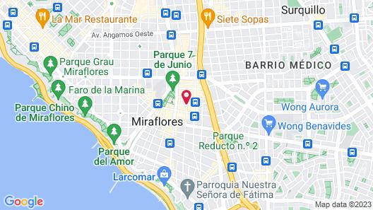 Four Points by Sheraton Miraflores Map