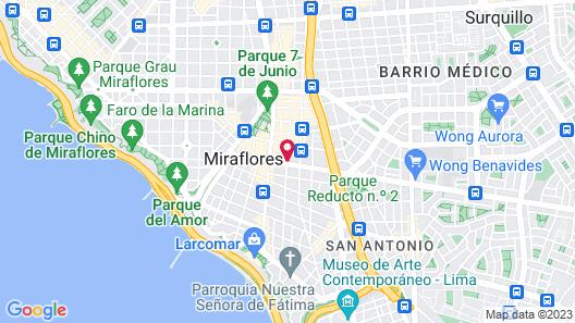 Thunderbird Fiesta Hotel & Casino Map