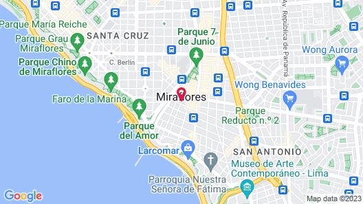 Sol de Oro Hotel & Suites Map