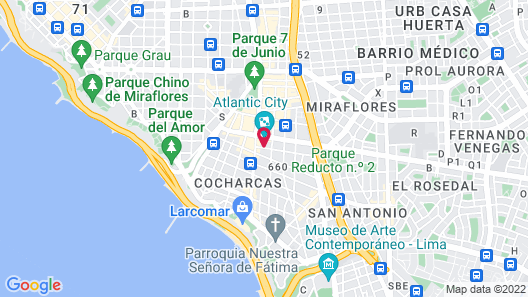 Tierra Viva Miraflores Larco Map
