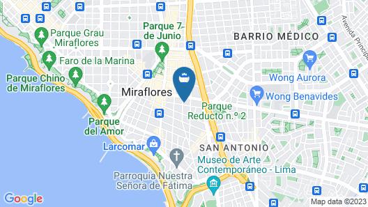 Mercure Ariosto Lima Map