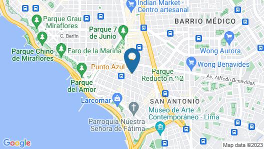 ibis Budget Lima Miraflores Map