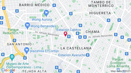 Hotel Vila Santa Map