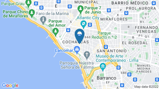 ibis Larco Miraflores Map
