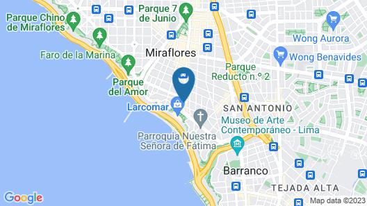 Best Western Plus Urban Larco Hotel Map