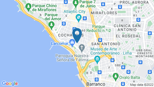 Bayview Hotel Map