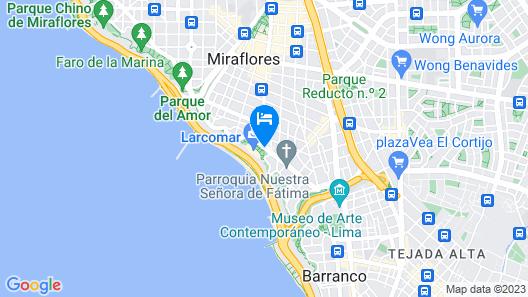 JW Marriott Hotel Lima Map
