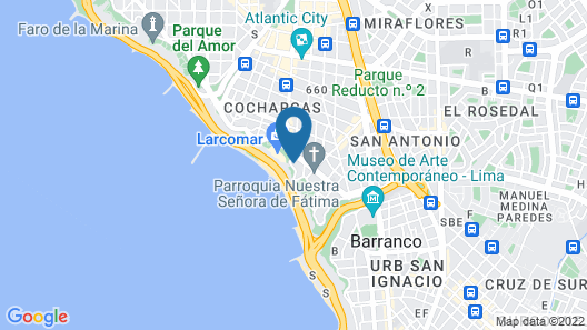 AC Hotel by Marriott Lima Miraflores Map