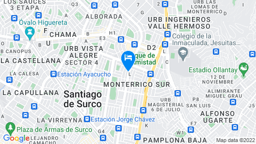 Hostal DLUXO Map