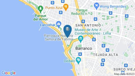 Miraflores Park, A Belmond Hotel, Lima Map