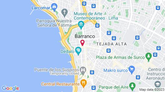 3B Barranco's Chic and Basic B&B Map