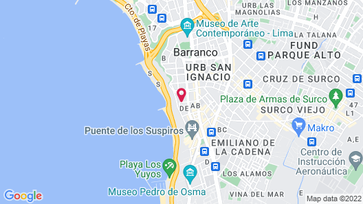 Villa Barranco by Ananay Hotels Map