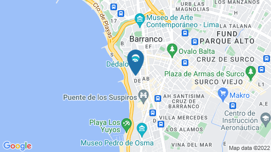 Villa Barranco by Ananay Hotels Map