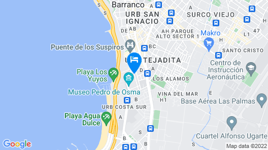 Casa Samay Barranco B&B Map