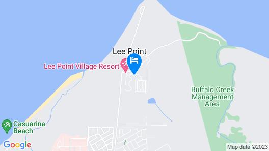 Club Tropical Resort Darwin Map