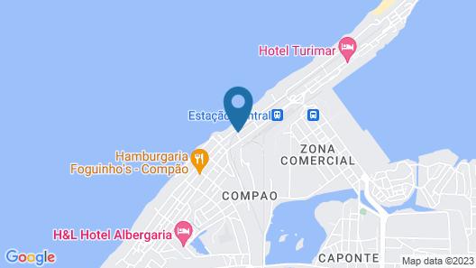 Hotel Tropicana Lobito Map