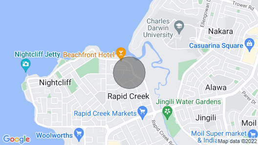 Darwin Luxury Private Apartment Pool Beach Wifi Map
