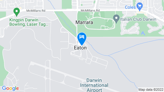 Mercure Darwin Airport Resort Map