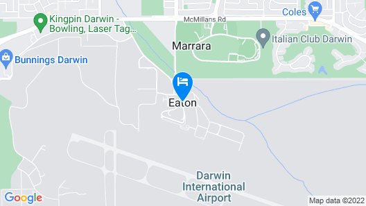 Novotel Darwin Airport Map
