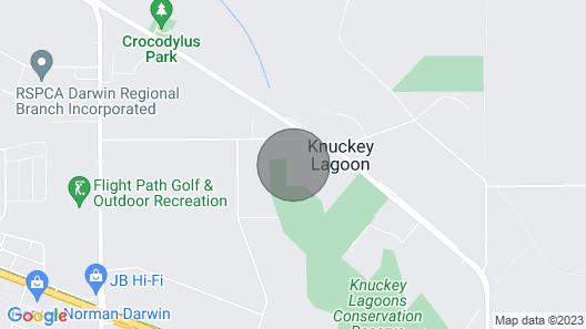KL Villa is a Unique Exclusive Tropical Hideaway Paradise Map