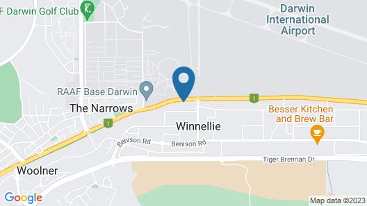 The Leprechaun Resort Map