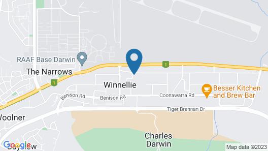 Winnellie Hotel Motel Map