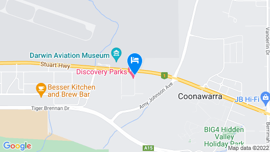 Discovery Parks – Darwin Map