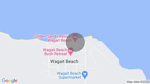Golden Sands Retreat Beach House Map