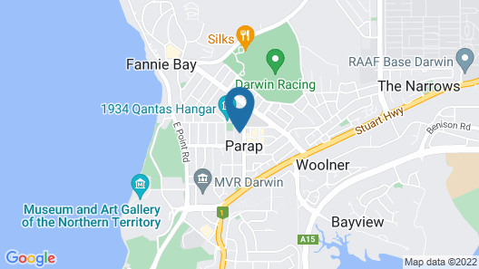 Elsey on Parap Map