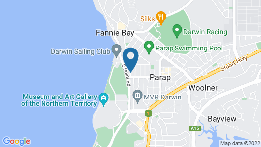 Capricornia Motel Map