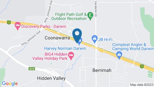 Hidden Valley Holiday Park Map