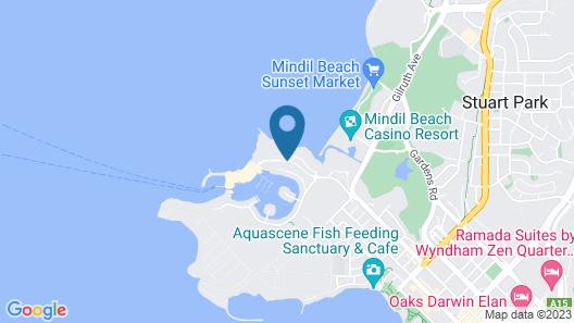 Cullen Bay Resort Map