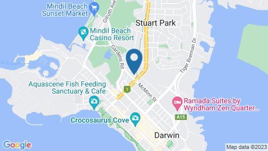 Alatai Holiday Apartments Map