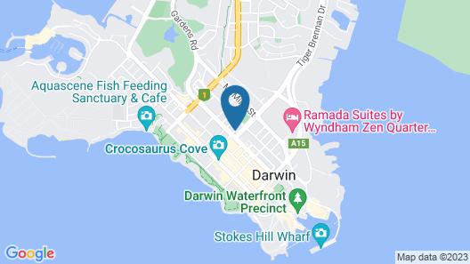 Travelodge Resort Darwin Map