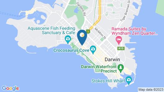 Crocodilly Inn - Hostel Map