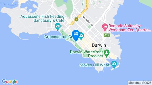 Novotel Darwin CBD Map
