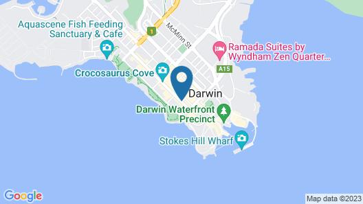Hilton Darwin Map