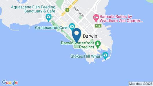 Palms City Resort Map