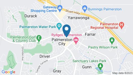 Quest Palmerston Map