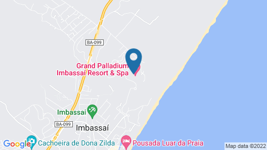 Grand Palladium Imbassai Resort and Spa - All Inclusive Map