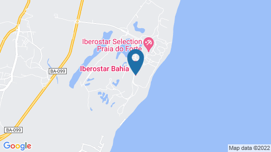 Iberostar Selection Praia do Forte All Inclusive Map