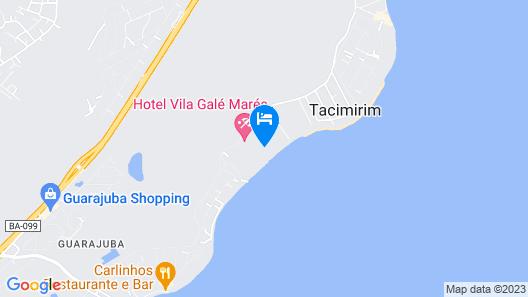 Vila Galé Resort Marés - All Inclusive Map