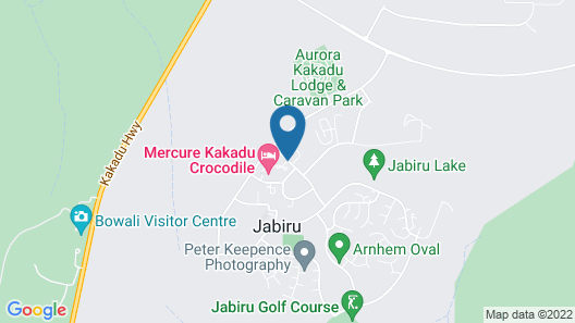 Mercure Kakadu Crocodile Hotel Map