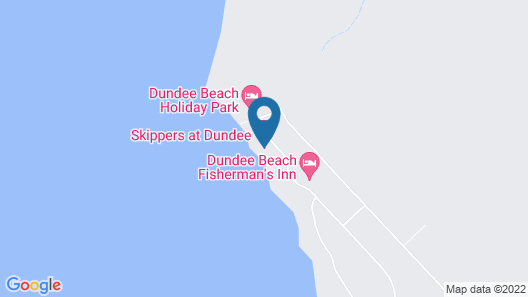 Skippers at Dundee Map