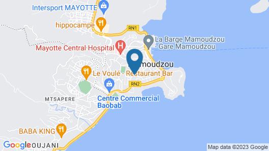 Hotel Résidence Maharajah Map
