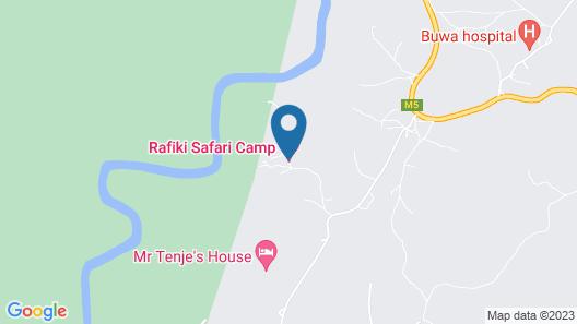 Rafiki Safari Camp Map